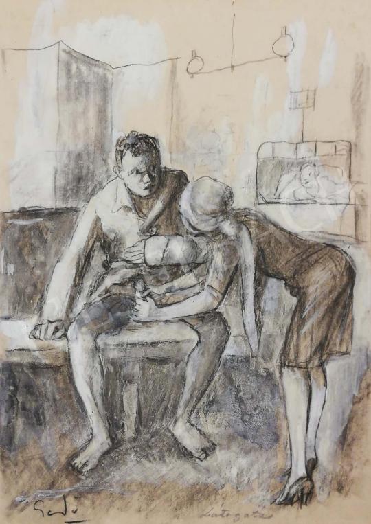 For sale Gedő, Lipót - Visit 's painting