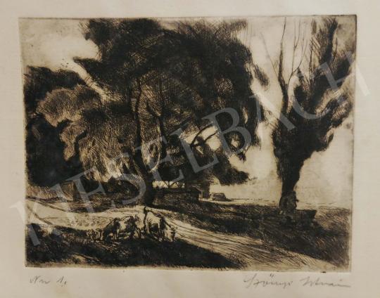 For sale  Szőnyi, István - By the Brook, 1921 's painting