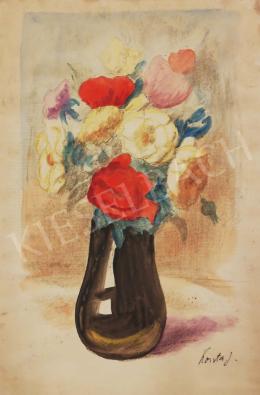 Koszta, József - Flower Still Life