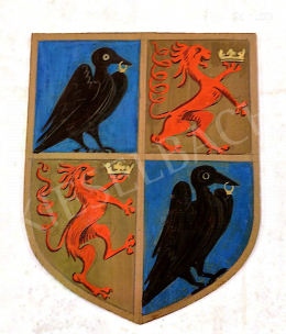 Molnár C. Pál - Corvin címer