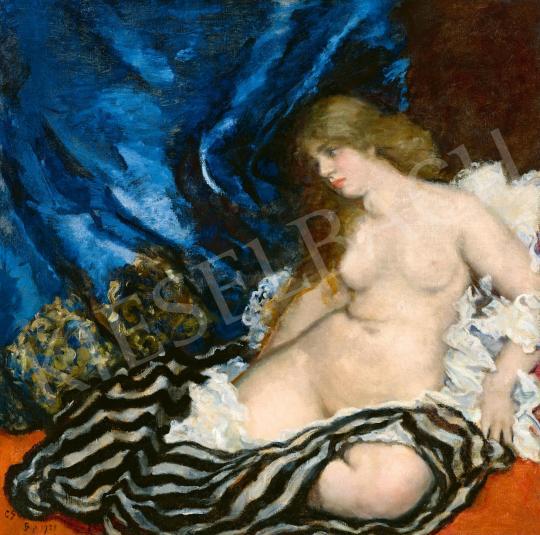 Csók, István - Thamar, 1921 painting