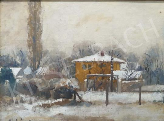 For sale  Prohászka, József - Winter Landscape 's painting