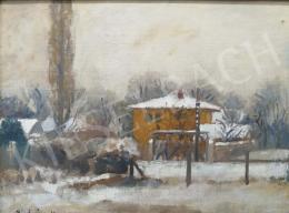 Prohászka, József - Winter Landscape