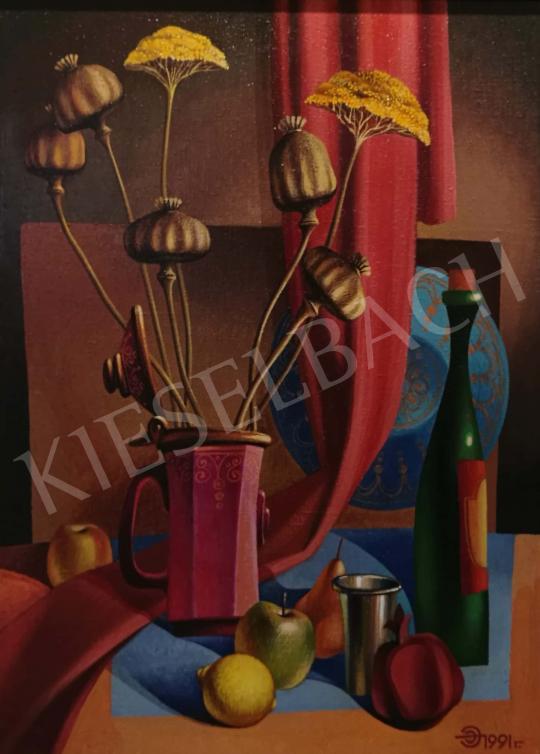 Eladó  Efendiev, Eldar - Csendélet mákkal festménye