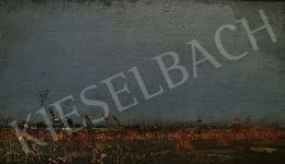 Barcsay Jenő - Alföldi látkép (Végtelen horizont)