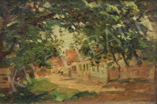Eladó  Bosznay István - Kőszegi utca, 1926 festménye