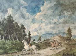 Rudnay, Gyula - Riding