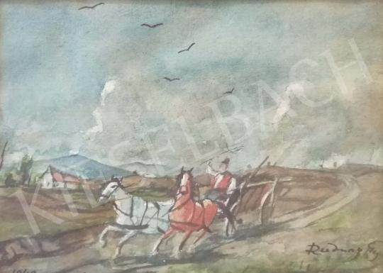 Eladó  Rudnay Gyula - Lovaskocsi festménye
