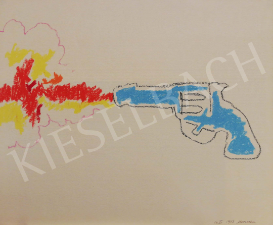 For sale Marosán, Gyula - Pistol-shot, 1943 's painting