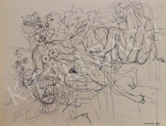 Eladó Marosán Gyula - A királylány álma, 1968 festménye