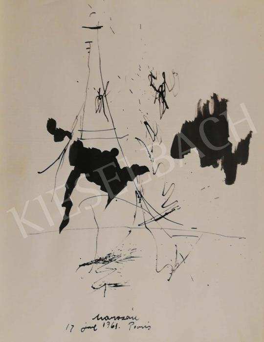 Eladó Marosán Gyula - Kalligráfia IV., 1961 festménye