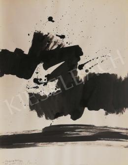 Marosán Gyula - Kalligráfia V., 1961