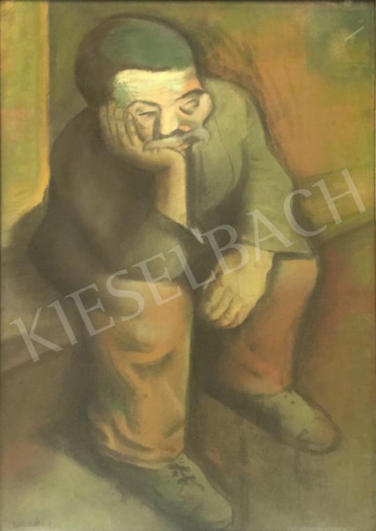 Eladó  Borbereki-Kovács Zoltán - Búsuló székely festménye