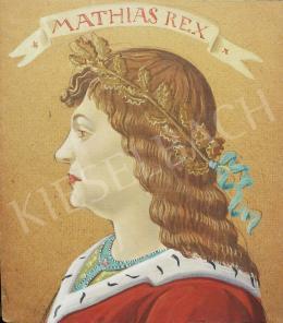 Molnár C. Pál - Mátyás király portréja