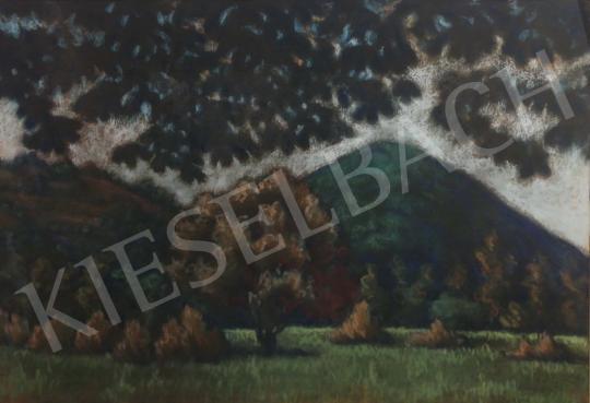 For sale Husovszky, János - Nagybánya Landscape with the Kereszt-hegy 's painting