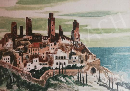 For sale  Duray, Tibor - Cityscape with many Towers 's painting