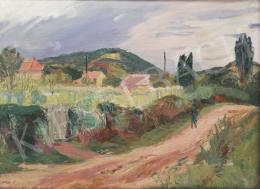 Duray, Tibor - Landscape with Figures