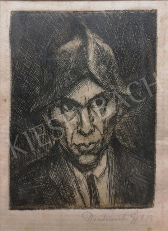 For sale Derkovits, Gyula - Self-Portrait 's painting
