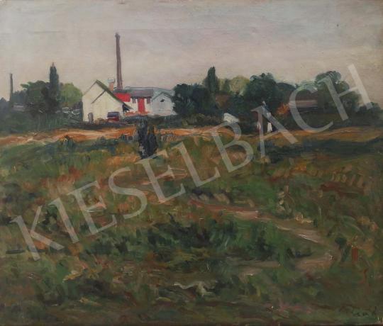 Eladó Paál Albert - Aradi táj festménye