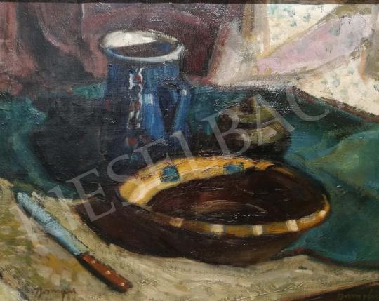 Eladó Boross Géza - Asztali csendélet festménye