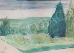 Bernáth Aurél - Kora tavaszi tájkép