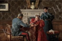 Margitay Tihamér - A vesztett játszma (Sakk-matt), 1895