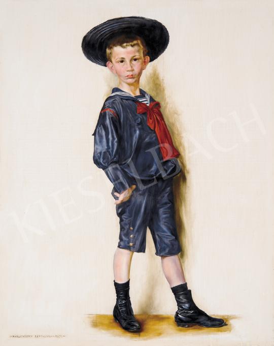 Karlovszky Bertalan - Kisfiú, 1901 festménye