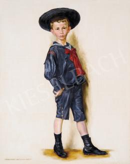 Karlovszky, Bertalan - Boy, 1901