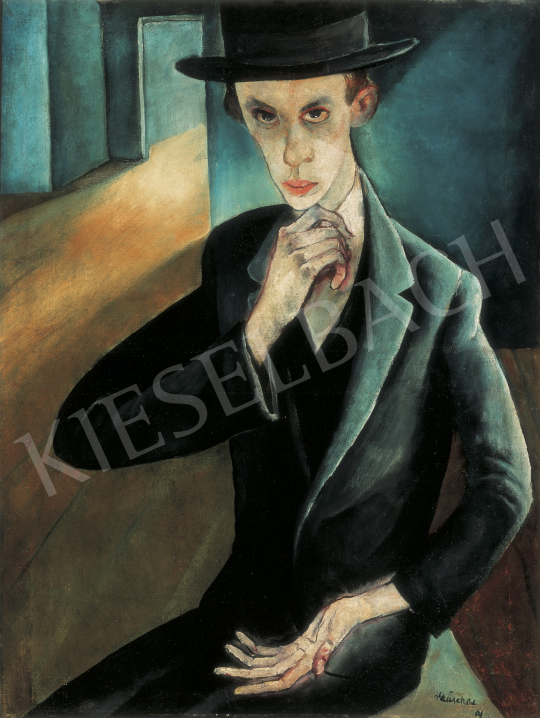 Rauscher, György - The Talmudist, 1925 painting