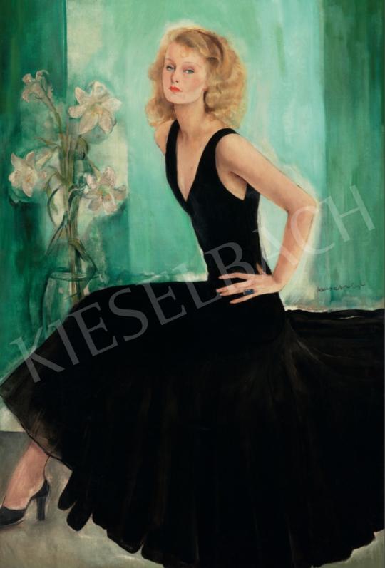 Rauscher, György - Lilian Harvey's Portrait, 1929 painting