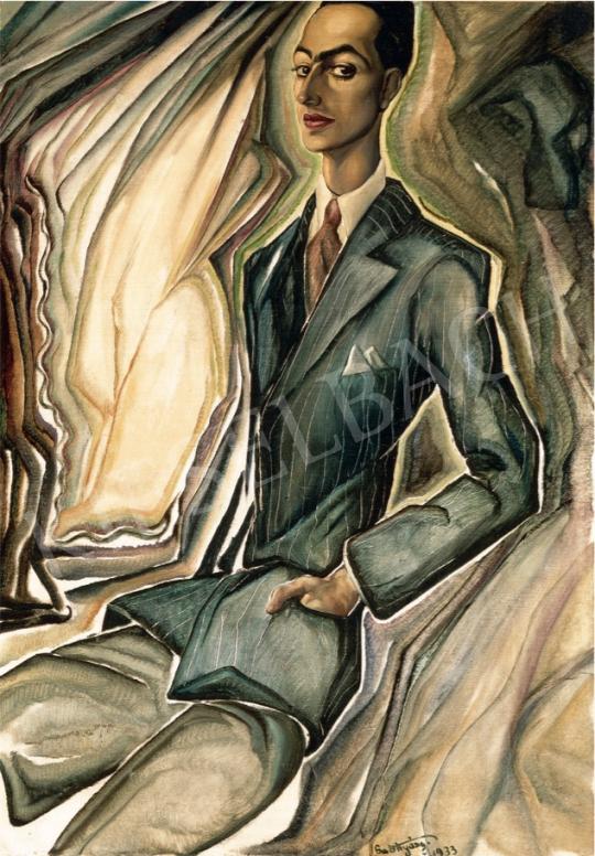 Batthyány Gyula - Marich Jenő portréja, 1933 festménye