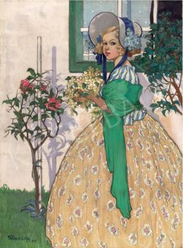 Faragó Géza - Beöthy Szidónia (Baba), 1909