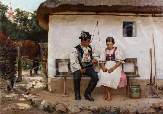 "Ferraris Artúr - ""Ne izélj, Matykó!"", 1893 festménye"