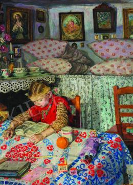 Perlmutter, Izsák - Living Room, c. 1908
