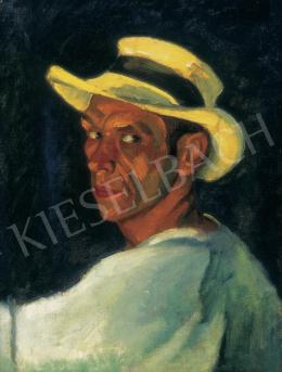 Czigány, Dezső - Self-Portrait, c. 1910