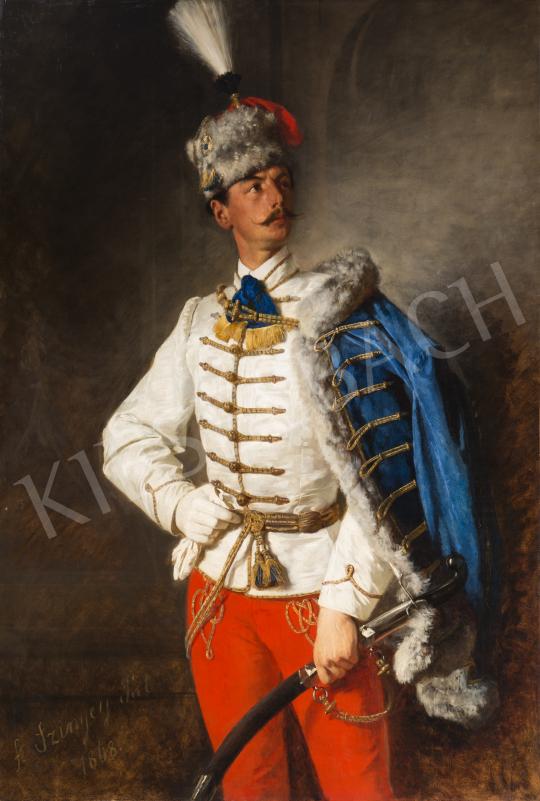 Szinyei Merse Pál - Szinyei Merse László, 1868 festménye
