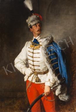 Szinyei Merse, Pál - Portrait of László Szinyei Merse, 1868