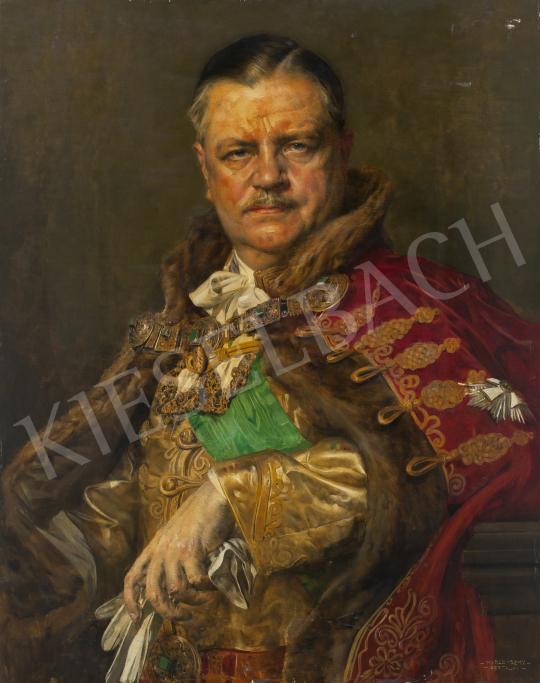 Karlovszky Bertalan - Fabinyi Tihamér, 1920-as évek festménye