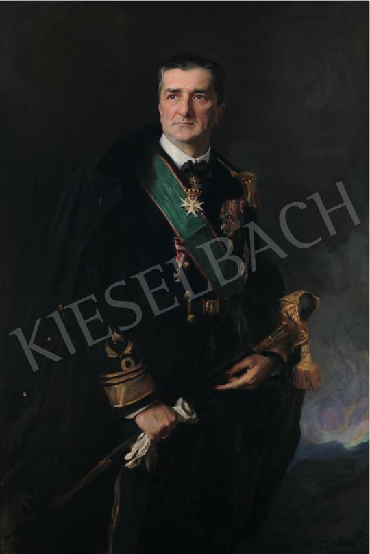 László Fülöp - Horthy Miklós, 1927 festménye