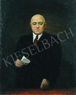 Pór, Bertalan - Portrait of Mátyás Rákosi, 1952