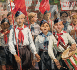 Rozs János - Úttörők, 1950