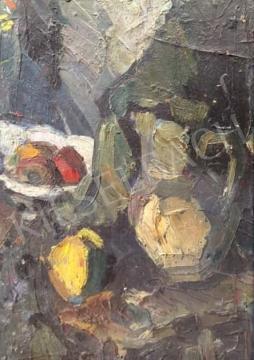 Gruber Béla - Csendélet kancsóval festménye