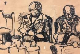Gruber Béla - Ketten a konyhában (Anyuka és Jenő papa)