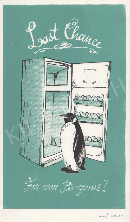 Anef - Last Chance Pinguin festménye