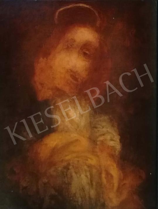 Eladó  Kárpáti Tamás - Szent Ignác, 1989 festménye
