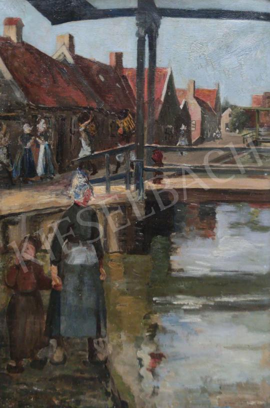 Eladó Ismeretlen festő - Holland táj festménye