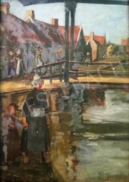 Ismeretlen festő - Holland táj