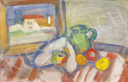 Kmetty János - Műtermi csendélet (Szentendre), 1930-as évek | 60. Téli Aukció aukció / 3 tétel