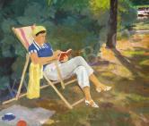 Pólya Iván - Art deco csendélet, 1930 körül festménye