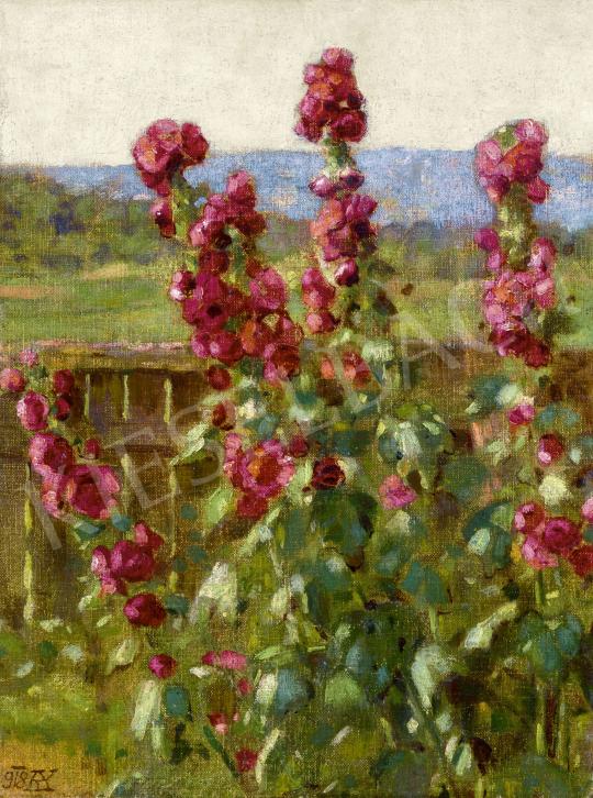 Körösfői Kriesch Aladár - Virágoskert, 1918 | 60. Téli Aukció aukció / 19 tétel